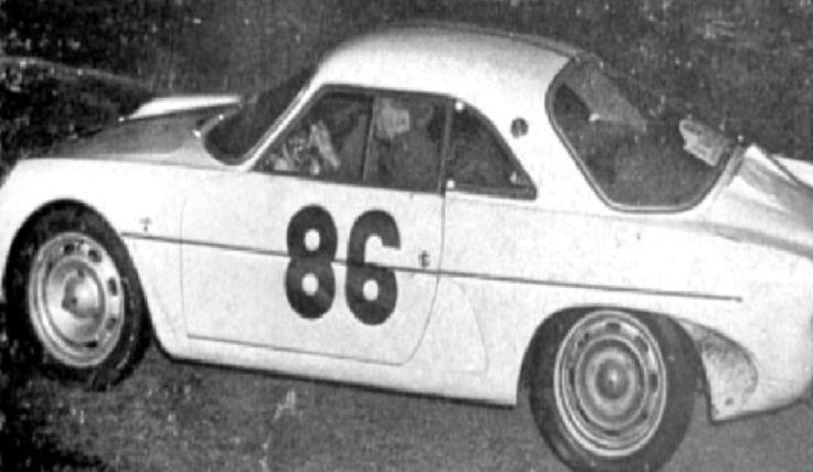 1962 Tour de Corse: Delande's Alpine-Renault A108