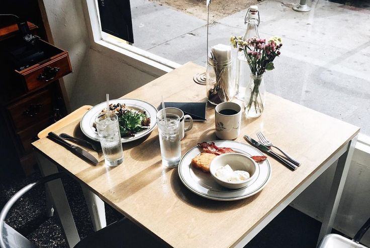 Talking about the value of a good meal in the morning and the best brunch places…
