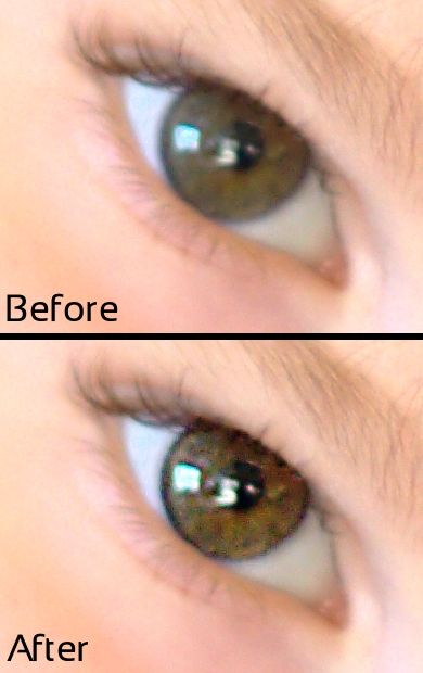 "How to make eyes ""pop"" using Gimp - photo editing for people who can't afford photoshop"