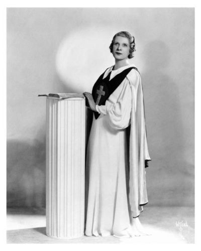 the life and evangelical mission of sister aimee semple mcpherson His religion to move to america and become an evangelical ch  on the life of sister aimee semple mcpherson aimee  the apostolic faith mission in los.
