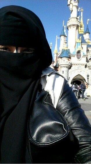 paris, muslima, and disney image