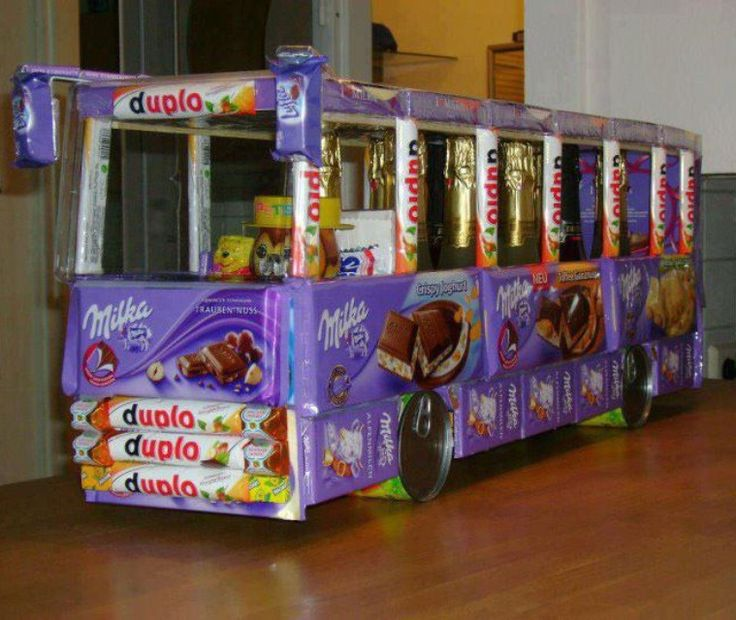 Süßigkeiten Bus
