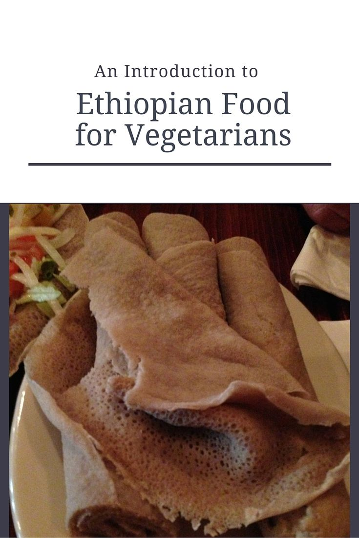 Find out about Ethiopian cuisine and the many options for vegetarians