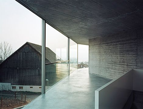 Christian Kerez - House with one wall, Zurich 2007