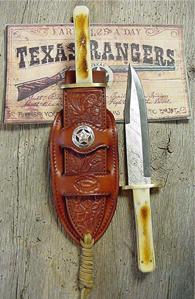 Texas Ranger Bowie knife