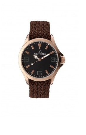 TOYCRUISE METAL BROWN AND PINK GOLD #toywatch #metal #brown #gold