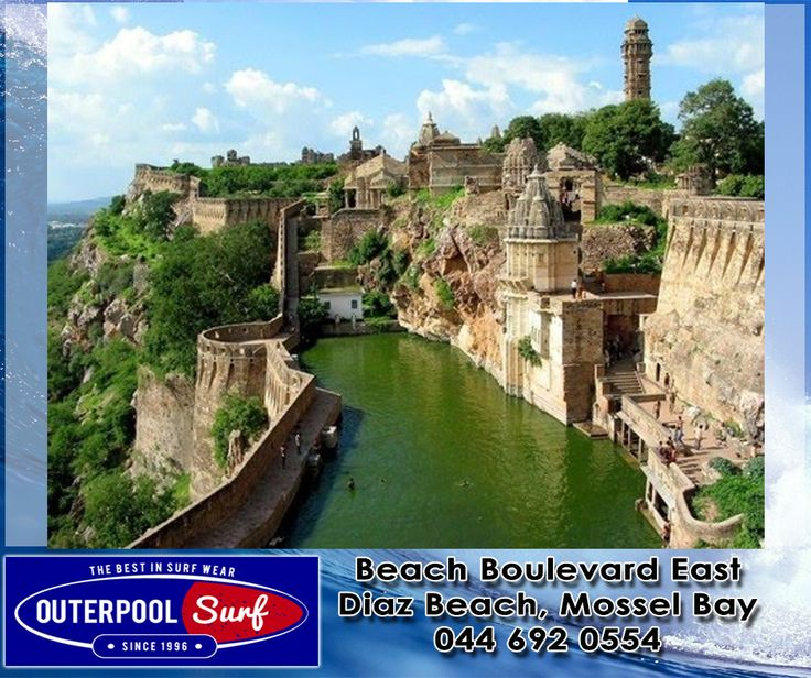 Chittorgarh Fort, India.  Chittorgarh Fort is the largest fort in India and the grandest in the state of Rajasthan. It is a World Heritage Site. The fort, plainly known as Chittor, was the capital of Mewar and is today situated several kilometres south of Bhilwara. #BeautifulPlaces #India