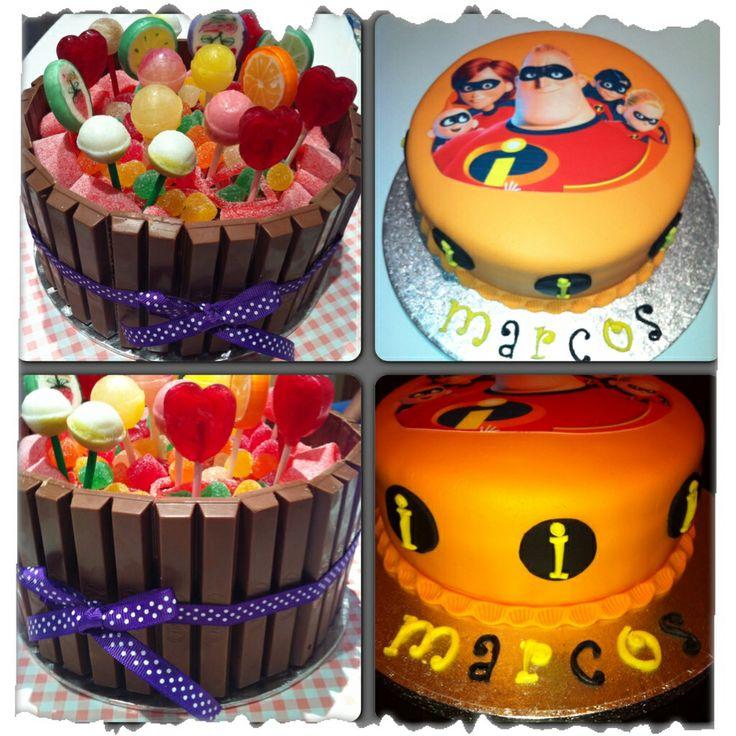 Algunas tartas realizadas!!!