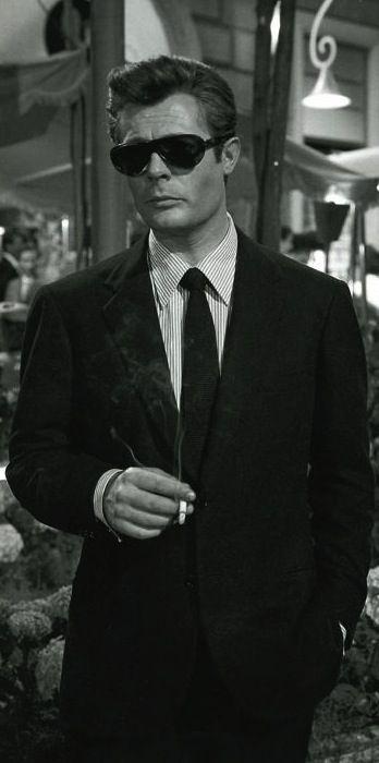 Marcello Mastroianni in 'La Dolce Vita' (dir. Federico Fellini, 1960)