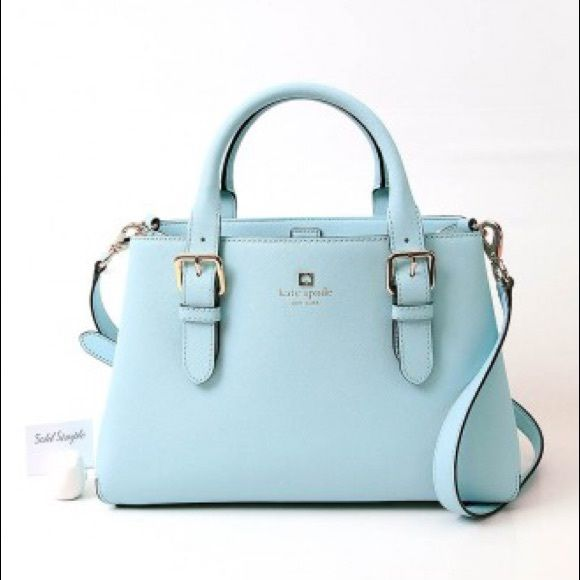 Kate Spade Cove Street Provence bag Kate Spade bag, light blue (see first picture).  Super cute, and NWT!  Please message with any questions! kate spade Bags Shoulder Bags