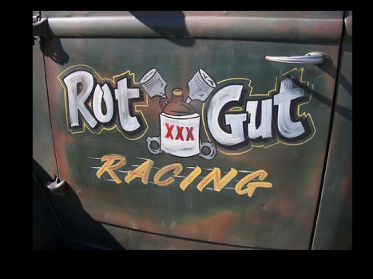 Ratrod pickup truck & 159 best Garage Signs \u0026 Door Art images on Pinterest | Garage signs ...