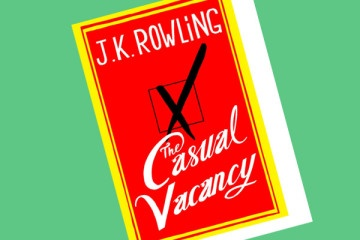 The Casual Vacancy.  J.K. Rowling.  Don't believe those negative reviews--this was an incredibly complex and beautiful book.  This picture links to a review that worth the read.
