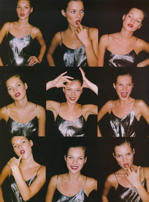 suicideblonde:    Kate Moss photographed by Juergen Teller for Vogue UK, April 1994