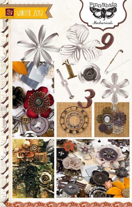 Want All Of It Finnabair Range Called Mechanicals Made By Prima MarketingCraft MaterialsCraft SuppliesWish ListPopupMixed Media ArtMedium