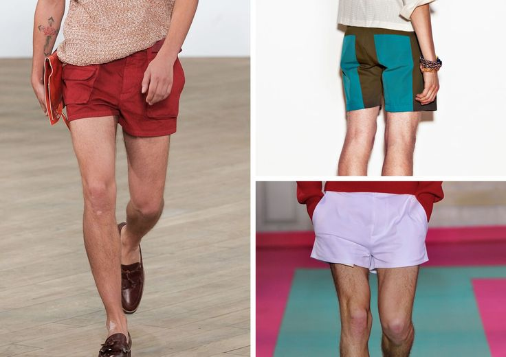 #SpringSummer2013 #SS13 #Fashion #Trend #Report by #TheTrendBoutique #Carnival Left: Image & Collection by Topman Design Top Right: Image & Collection by Mjolk Bottom Right: Image & Collection by Acne #Shape #Silhouettes #Shorts