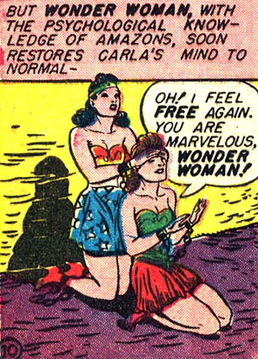 Wondy in Sensation Comics #4 (1942) by William Moulton Marston & H.G. Peter
