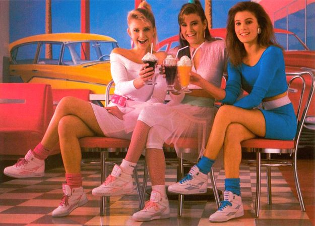 L.A. Gear was the only sneaker brand that mattered.   53 Things Only '80s Girls Can Understand