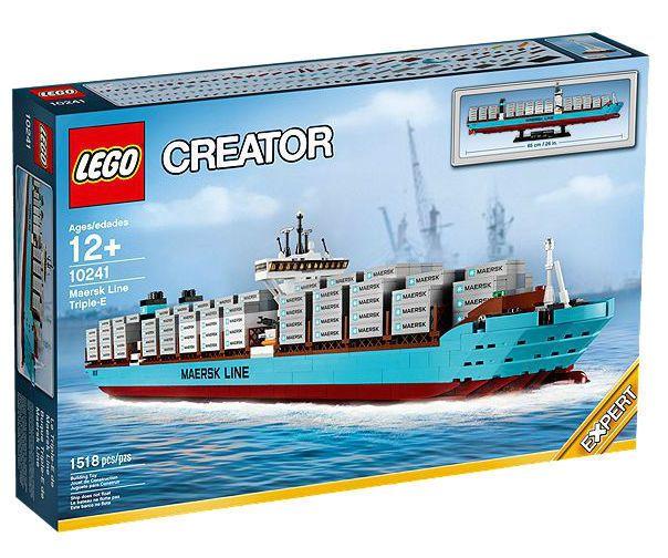 LEGO Creator Maersk Line Triple-E (10241) NEW NIB SEALED FREE SHIPPING RARE