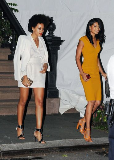 Photo of Solange Knowles & her friend model  Chanel Iman -