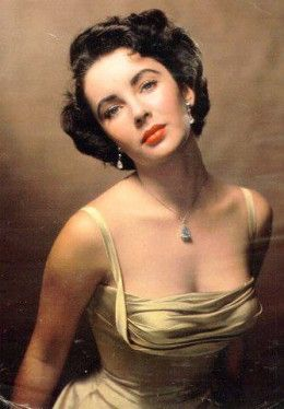 Classic Hollywood's Most Beautiful Actresses - Elizabeth Taylor