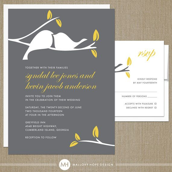 25 best Wedding Invitations images on Pinterest Invitation ideas