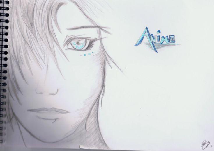 Anime Drawings In Pencil Easy Boy Hd Wallpaper Gallery