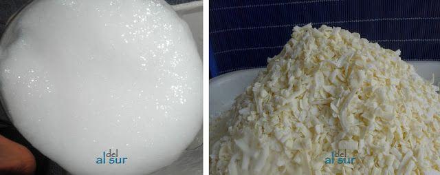 Alsurdelsur jab n para lavadora dos versiones l quido y - Jabon natural para lavadora ...