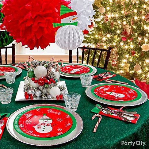 132 best Holiday Table Settings images on Pinterest | Harvest table ...