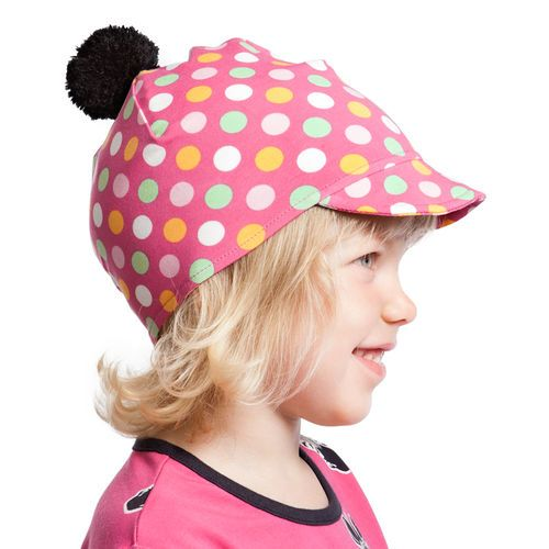 Super cool cap with a pom pom on top. Great accessory for the fall!