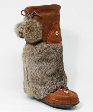 Another great find on #zulily! Manitobah Mukluks Copper Tall Classic Suede & Fur Boot by Manitobah Mukluks #zulilyfinds