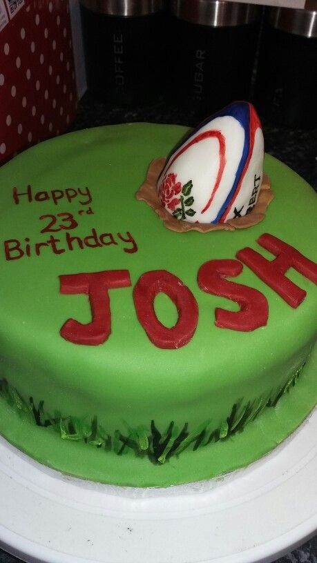 Rugby cake x