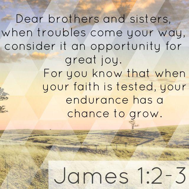 Endurance In Discouragement