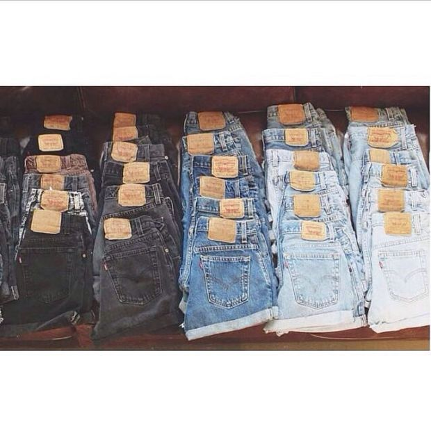 LEVIS High Waisted Shorts Variety