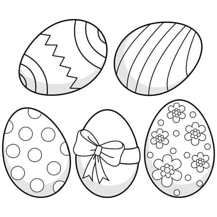Easter Egg Hunt Coloring Pages For Kids Easter Coloring Pages Easter Egg Decorating Easter Coloring Pictures