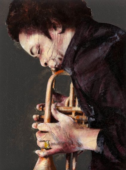 Lita Cabellut. Is a Spanish painter who lives and works in The Hague, Netherlands. Cabellut works on large scale canvases using a contemporary variation of the fresco technique.