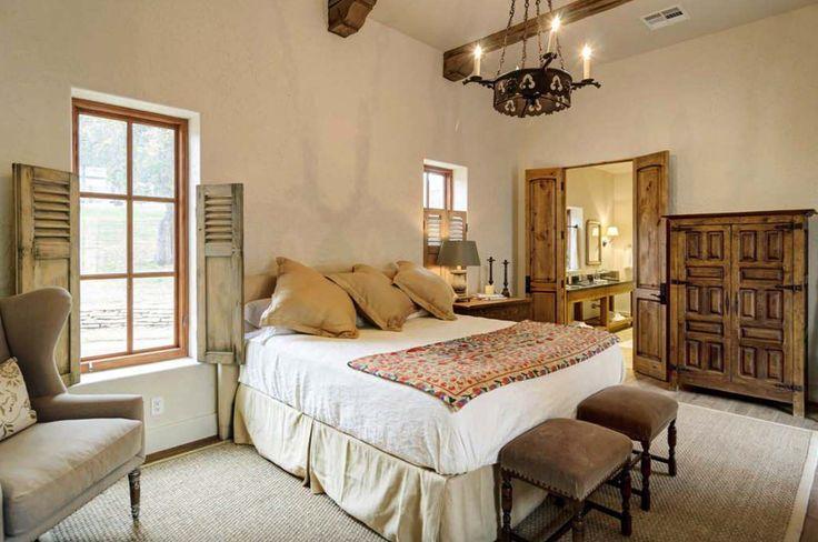 Mediterranean style home with rustic yet elegant interiors on Lake Travis