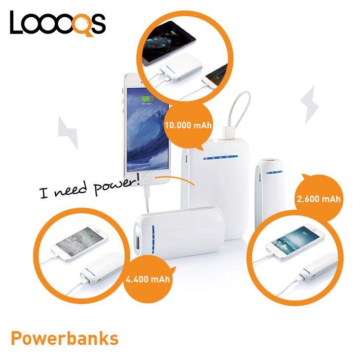 Loooqs powerbanks