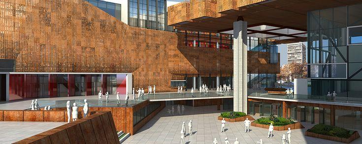 disenoarquitectura.cl-Cristian Fernandez-Centro-Cultural-Gabriela-Mistral-foto…