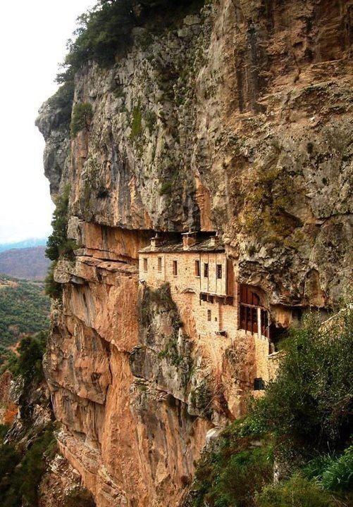 The Holy Monastery of Kipina in North Tzoumerka-Epirus,Greece.