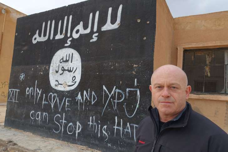 """IMG: """"only love and YPJ can stop this hate"""" 