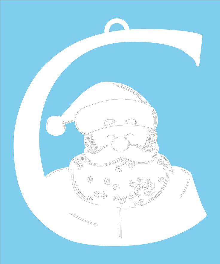 Puoi appenderla all'albero di Natale oppure alla confezione del tuo regalo o ancora ad un pacchetto di dolciumi da portare agli amici. L'effetto e' garantito!