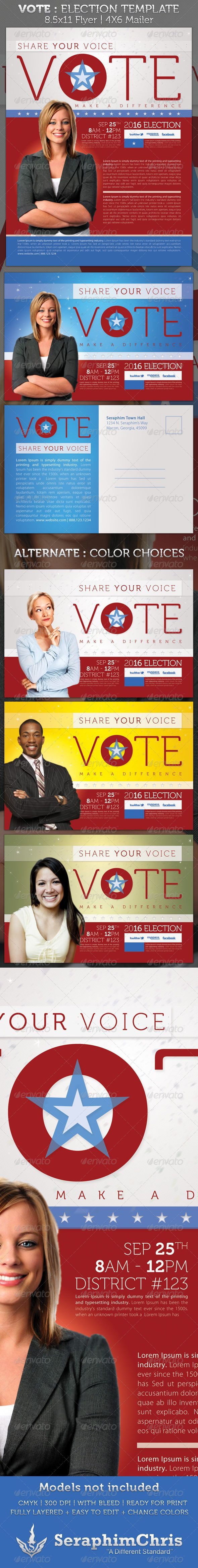 campaign mailer template - 13 best free political campaign flyer templates images on