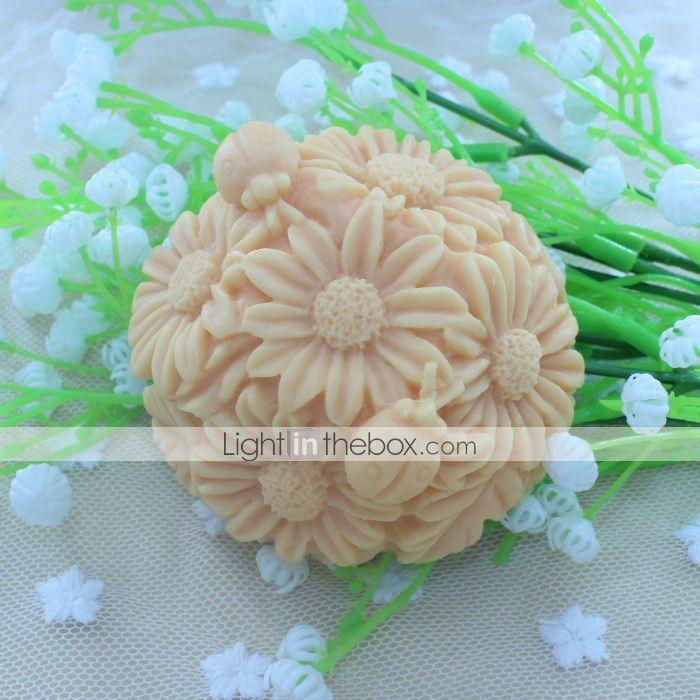 Χριστούγεννα μπάλα λουλούδι επιδόρπιο διακοσμητής σαπούνι μούχλα κέικ φοντάν καλούπι σιλικόνης σοκολάτα, τα εργαλεία διακόσμησης bakeware 3862182 2016 – €11.75
