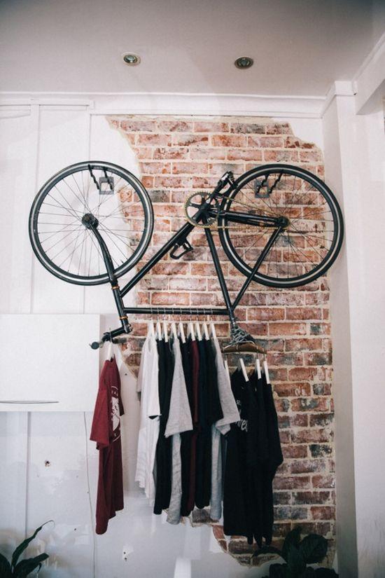Pratique, et chic, le vélo cintre