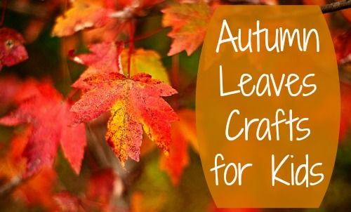 Autumn Leaves: 9 Fall Crafts for Kids - Pinned by @PediaStaff – Please Visit  ht.ly/63sNt for all our pediatric therapy pins