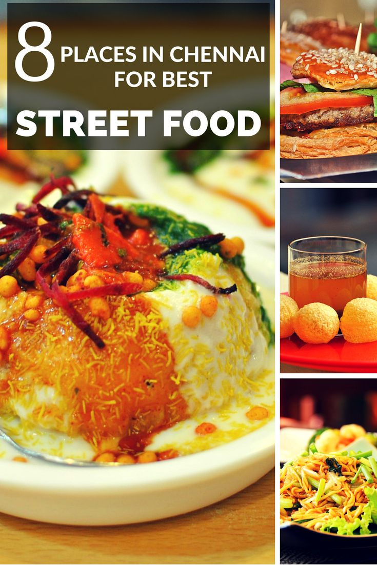 The street food of Chennai is something you should try atleast once in your lifetime. Chennai's food is much more than Idli and Dosa.