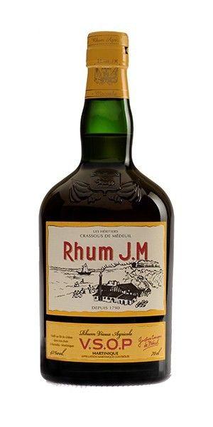 Rhum Vieux JM VSOP 43° 70cl - Rhum des iles