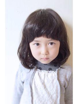 スマッジコミュ(smudge commu)黒髪◎大人かわいい♪ミディアムボブ☆