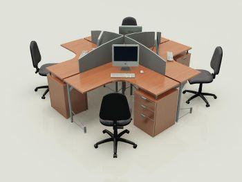 Imagenes de oficinas con muebles modulares