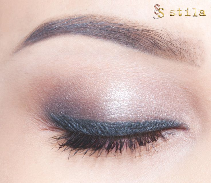 """Eyes reveal your inner beauty. Get this look using our Eyes Are the Windows """"Mind"""" palette from @stilacosmetics."""